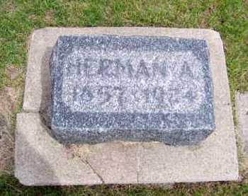 HILDEBRAND, HERMAN A. - Brown County, Nebraska | HERMAN A. HILDEBRAND - Nebraska Gravestone Photos