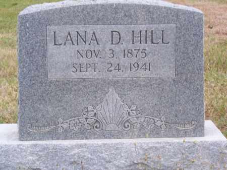 HILL, LANA D. - Brown County, Nebraska | LANA D. HILL - Nebraska Gravestone Photos