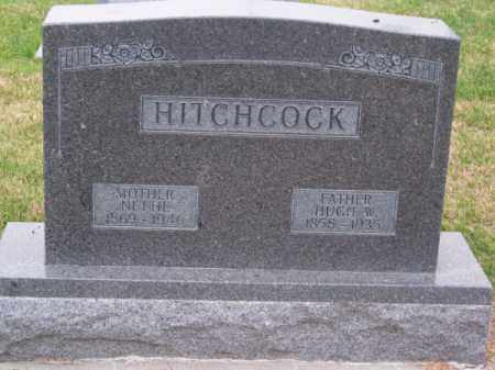 HITCHCOCK, HUGH W. - Brown County, Nebraska   HUGH W. HITCHCOCK - Nebraska Gravestone Photos