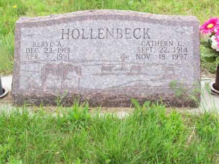 HOLLENBECK, BERYL A. - Brown County, Nebraska   BERYL A. HOLLENBECK - Nebraska Gravestone Photos