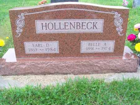 HOLLENBECK, EARL D. - Brown County, Nebraska | EARL D. HOLLENBECK - Nebraska Gravestone Photos