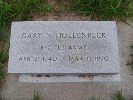 HOLLENBECK, GARY N. - Brown County, Nebraska | GARY N. HOLLENBECK - Nebraska Gravestone Photos