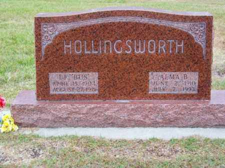 "HOLLINGSWORTH, I. F. ""BUS"" - Brown County, Nebraska 