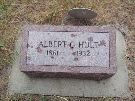 HOLT, ALBERT G. - Brown County, Nebraska   ALBERT G. HOLT - Nebraska Gravestone Photos