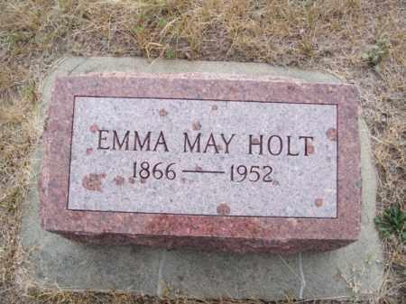 HOLT, EMMA MAY - Brown County, Nebraska | EMMA MAY HOLT - Nebraska Gravestone Photos