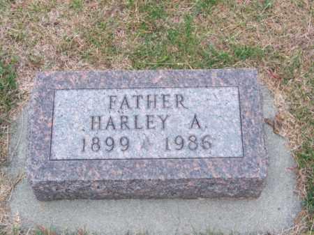 HONAKER, HARLEY A. - Brown County, Nebraska   HARLEY A. HONAKER - Nebraska Gravestone Photos