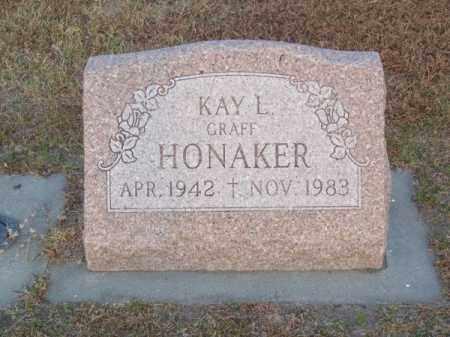 GRAFF HONAKER, KAY L. - Brown County, Nebraska | KAY L. GRAFF HONAKER - Nebraska Gravestone Photos