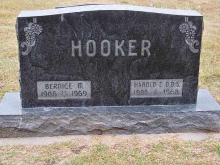 HOOKER, BERNICE M. - Brown County, Nebraska | BERNICE M. HOOKER - Nebraska Gravestone Photos