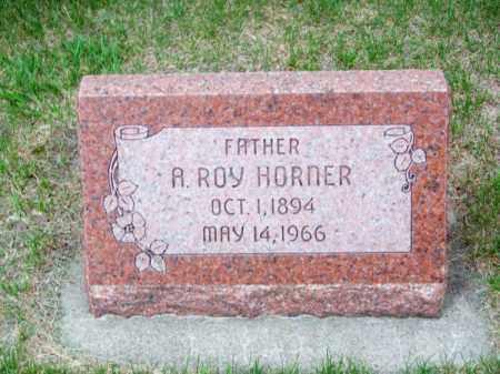 HORNER, A. ROY - Brown County, Nebraska | A. ROY HORNER - Nebraska Gravestone Photos