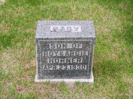 HORNER, BABY - Brown County, Nebraska | BABY HORNER - Nebraska Gravestone Photos