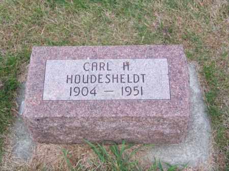 HOUDESHELDT, CARL H. - Brown County, Nebraska   CARL H. HOUDESHELDT - Nebraska Gravestone Photos