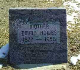 HOWES, EMMA - Brown County, Nebraska | EMMA HOWES - Nebraska Gravestone Photos