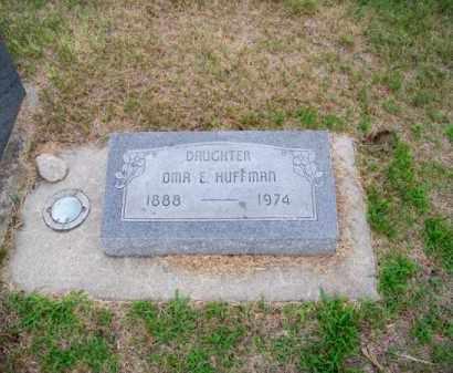 HUFFMAN, OMA E. - Brown County, Nebraska | OMA E. HUFFMAN - Nebraska Gravestone Photos