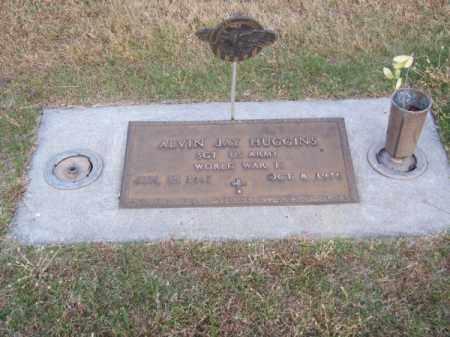 HUGGINS, ALVIN JAY - Brown County, Nebraska   ALVIN JAY HUGGINS - Nebraska Gravestone Photos