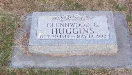 HUGGINS, GLENNWOOD C. - Brown County, Nebraska | GLENNWOOD C. HUGGINS - Nebraska Gravestone Photos