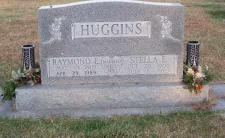 HUGGINS, RAYMOND E. - Brown County, Nebraska | RAYMOND E. HUGGINS - Nebraska Gravestone Photos