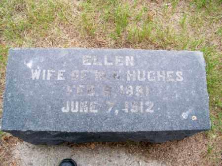 HUGHES, ELLEN - Brown County, Nebraska | ELLEN HUGHES - Nebraska Gravestone Photos