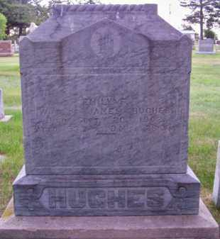 HUGHES, EMILY F. - Brown County, Nebraska | EMILY F. HUGHES - Nebraska Gravestone Photos