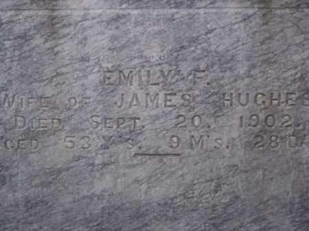 HUGHES, EMILY F. - Brown County, Nebraska   EMILY F. HUGHES - Nebraska Gravestone Photos