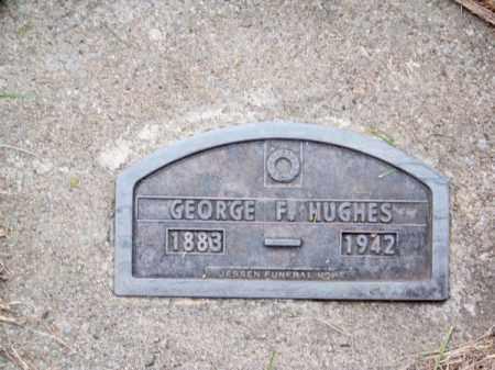 HUGHES, GEORGE F. - Brown County, Nebraska | GEORGE F. HUGHES - Nebraska Gravestone Photos