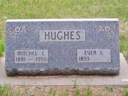 HUGHES, MITCHEL E. - Brown County, Nebraska | MITCHEL E. HUGHES - Nebraska Gravestone Photos