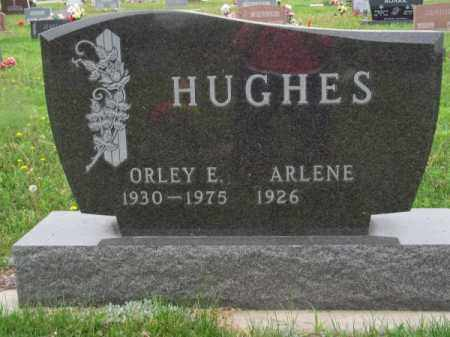 HUGHES, ORLEY E. - Brown County, Nebraska | ORLEY E. HUGHES - Nebraska Gravestone Photos