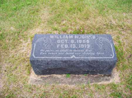 HUGHES, WILLIAM - Brown County, Nebraska | WILLIAM HUGHES - Nebraska Gravestone Photos