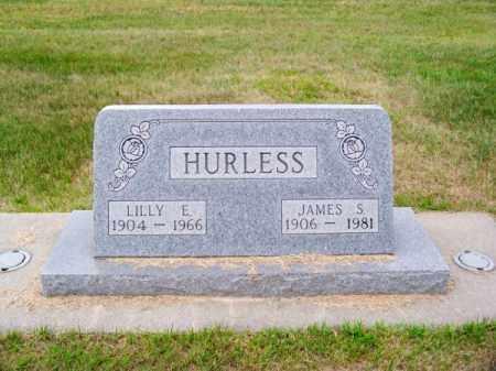 HURLESS, JAMES S. - Brown County, Nebraska   JAMES S. HURLESS - Nebraska Gravestone Photos