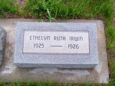 IRWIN, ETHELYN RUTH - Brown County, Nebraska | ETHELYN RUTH IRWIN - Nebraska Gravestone Photos