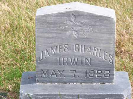 IRWIN, JAMES CHARLES - Brown County, Nebraska | JAMES CHARLES IRWIN - Nebraska Gravestone Photos