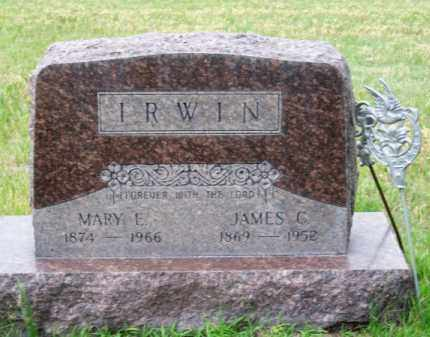 IRWIN, MARY E. - Brown County, Nebraska | MARY E. IRWIN - Nebraska Gravestone Photos
