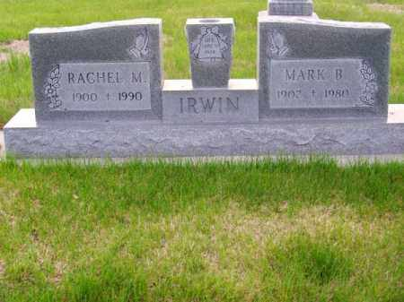 IRWIN, MARK B. - Brown County, Nebraska | MARK B. IRWIN - Nebraska Gravestone Photos