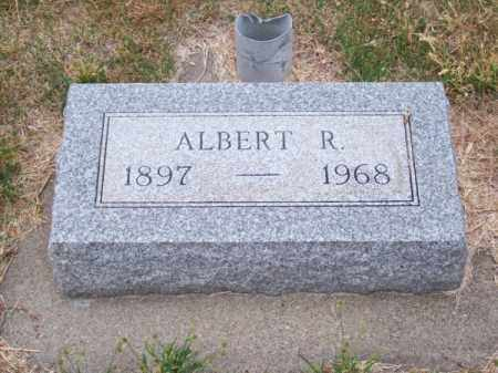 JACKMAN, ALBERT R. - Brown County, Nebraska | ALBERT R. JACKMAN - Nebraska Gravestone Photos