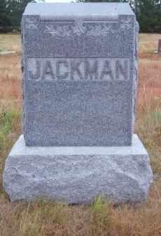 JACKMAN, FAMILY - Brown County, Nebraska   FAMILY JACKMAN - Nebraska Gravestone Photos