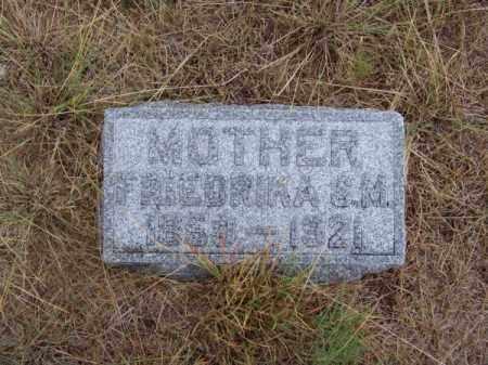 JACKMAN, FRIEDRIKA S. M. - Brown County, Nebraska | FRIEDRIKA S. M. JACKMAN - Nebraska Gravestone Photos