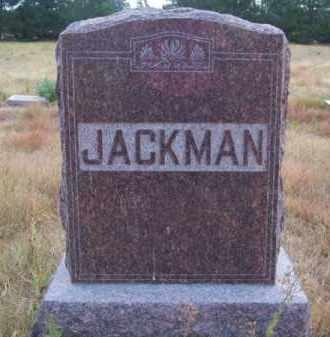 JACKMAN, FAMILY - Brown County, Nebraska | FAMILY JACKMAN - Nebraska Gravestone Photos