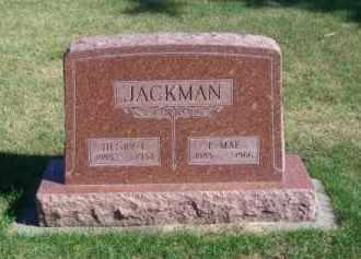 JACKMAN, HENRY L. - Brown County, Nebraska   HENRY L. JACKMAN - Nebraska Gravestone Photos