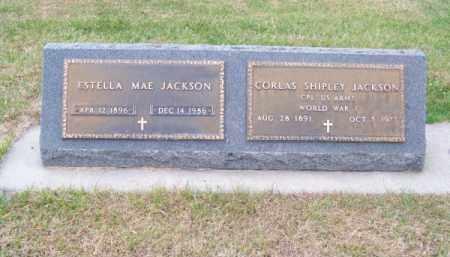 JACKSON, CORLAS SHIPLEY - Brown County, Nebraska | CORLAS SHIPLEY JACKSON - Nebraska Gravestone Photos