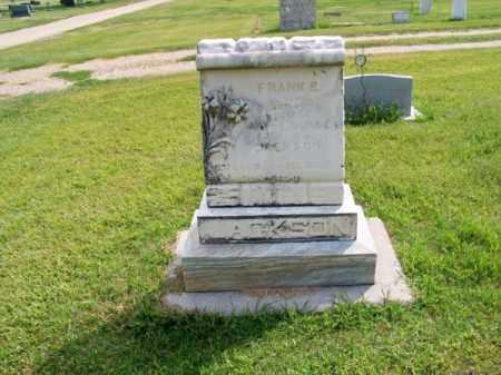 JACKSON, FRANK S. - Brown County, Nebraska | FRANK S. JACKSON - Nebraska Gravestone Photos