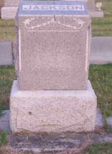JACKSON, FAMILY - Brown County, Nebraska | FAMILY JACKSON - Nebraska Gravestone Photos