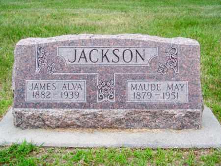 JACKSON, JAMES ALVA - Brown County, Nebraska | JAMES ALVA JACKSON - Nebraska Gravestone Photos
