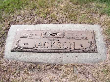 JACKSON, LURA M. - Brown County, Nebraska | LURA M. JACKSON - Nebraska Gravestone Photos