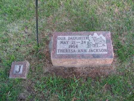JACKSON, THERESA ANN - Brown County, Nebraska   THERESA ANN JACKSON - Nebraska Gravestone Photos