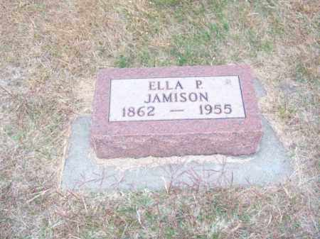 JAMISON, ELLA P. - Brown County, Nebraska | ELLA P. JAMISON - Nebraska Gravestone Photos