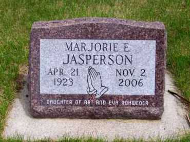 JASPERSON, MARJORIE E. - Brown County, Nebraska | MARJORIE E. JASPERSON - Nebraska Gravestone Photos