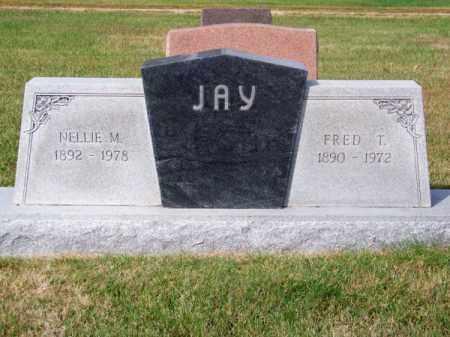 JAY, FRED T. - Brown County, Nebraska | FRED T. JAY - Nebraska Gravestone Photos