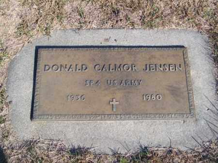JENSEN, DONALD CALMOR - Brown County, Nebraska | DONALD CALMOR JENSEN - Nebraska Gravestone Photos