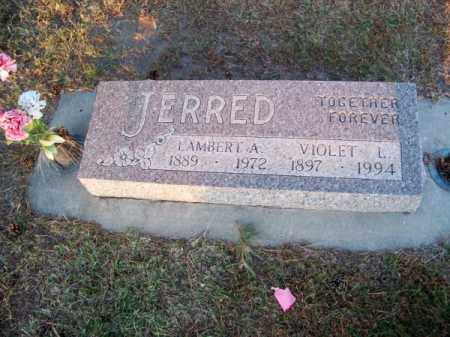 JERRED, VIOLET L. - Brown County, Nebraska | VIOLET L. JERRED - Nebraska Gravestone Photos