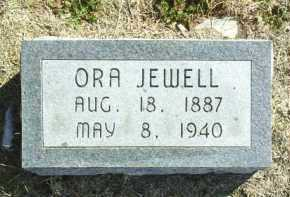 JEWELL, ORA - Brown County, Nebraska | ORA JEWELL - Nebraska Gravestone Photos