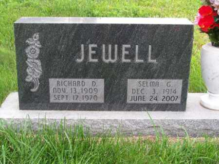 JEWELL, SELMA G. - Brown County, Nebraska | SELMA G. JEWELL - Nebraska Gravestone Photos